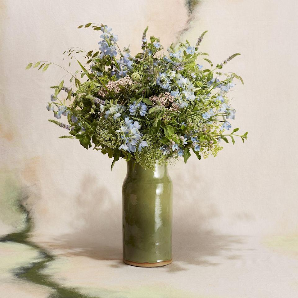 """<p>Wild at Heart offers something a little different this Father's Day: a herbaceous spruce that's guaranteed to get dad's perennial fingers going. Ingredients include fragrant rosemary, flowering mint, cleansing sage, sea oats grasses, pale-blue mini delphinium, pale-blue nigella and rice flowers – simply stunning. </p><p>From £70, <a href=""""https://wildatheart.com/"""" rel=""""nofollow noopener"""" target=""""_blank"""" data-ylk=""""slk:Wild at Heart"""" class=""""link rapid-noclick-resp"""">Wild at Heart</a>.</p>"""