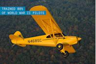 """<p>The first bright yellow J-3 went for sale in 1938 pumping out a whopping (for the time) 40 hp and costing a mere $1,000 dollars. With war looming in Europe, the little Cub became a primary trainer for the Civilian Pilot Training Program. By the end of the Second World War, 80 percent of all U.S. military pilots received their primary training in a J-3.</p><p>The Piper's simple construction, low cost, and docile handling made it one of the <a href=""""https://www.popularmechanics.com/flight/g1716/big-thrills-small-planes-the-best-light-sport-aircraft/"""" rel=""""nofollow noopener"""" target=""""_blank"""" data-ylk=""""slk:most popular light aircraft"""" class=""""link rapid-noclick-resp"""">most popular light aircraft</a> of all time. Due to increasing <a href=""""https://www.popularmechanics.com/adventure/a4927/4212839/"""" rel=""""nofollow noopener"""" target=""""_blank"""" data-ylk=""""slk:demand from bush pilots"""" class=""""link rapid-noclick-resp"""">demand from bush pilots</a>, the classic design has seen something of a modern renaissance. Manufacturers are adding onto the time-tested platform by adding modern conveniences like increased horsepower and electrical systems.</p>"""