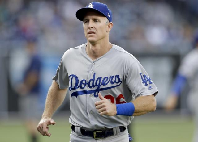 Chase Utley will be retiring from baseball following the 2018 season. (AP)