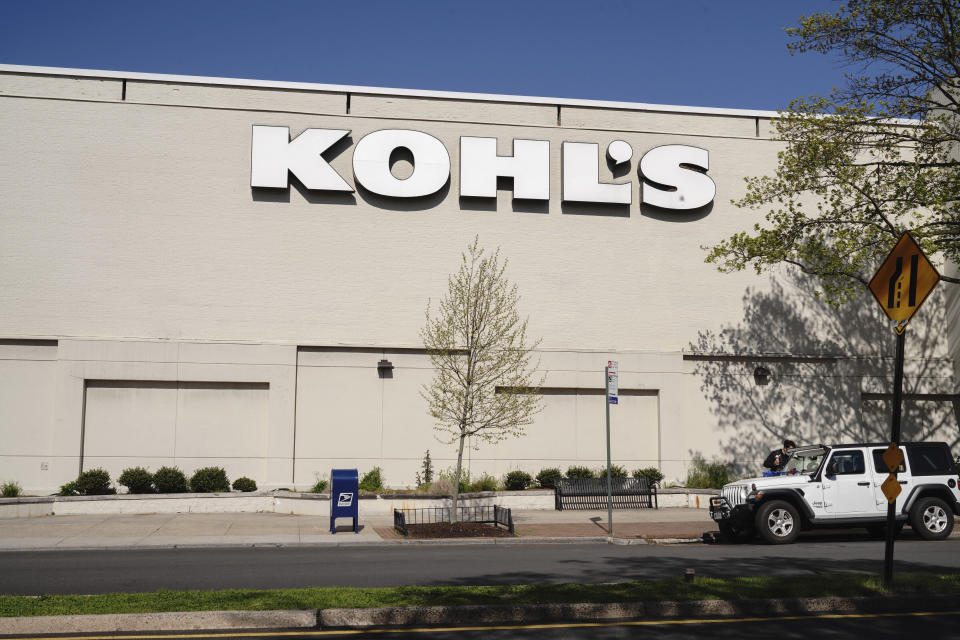 Photo by: John Nacion/STAR MAX/IPx 2020 5/12/20 A view of Kohl's during the coronavirus pandemic on May 12, 2020 in Queens borough of New York City. COVID-19 has spread to most countries around the world, claiming over 270,000 lives with over 3.9 million infections reported.