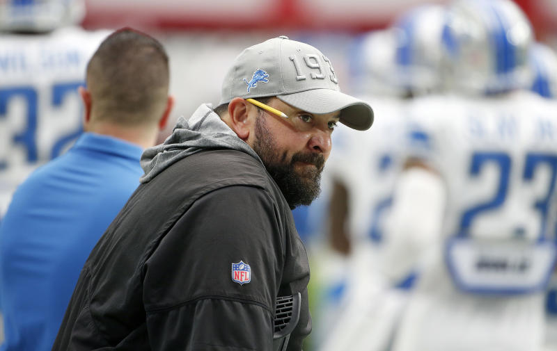 Matt Patricia. (Getty)