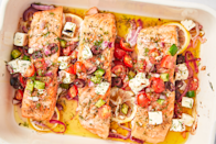 """<p>From grilling recipes to Instant Pot dinner ideas, these summer weeknight wonders are quick, easy and perfect for a delicious family meal. </p><p>Need more summer recipes? Check out these <a href=""""http://www.delish.com/cooking/recipe-ideas/g2992/weeknight-seafood-dinners/"""" rel=""""nofollow noopener"""" target=""""_blank"""" data-ylk=""""slk:easy seafood ideas"""" class=""""link rapid-noclick-resp"""">easy seafood ideas</a> or <a href=""""http://www.delish.com/cooking/g2872/super-easy-summer-pastas/"""" rel=""""nofollow noopener"""" target=""""_blank"""" data-ylk=""""slk:simple summer pastas"""" class=""""link rapid-noclick-resp"""">simple summer pastas</a>. </p>"""