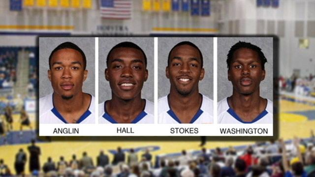 Four Hofstra University Star Basketball Players Charged in Burglaries
