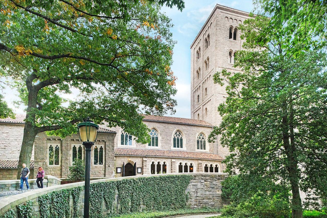 """<p><strong>Zoom out. What's this place all about?</strong><br> Located on four acres in northern Manhattan's Fort Tryon Park, the Met Cloisters is a branch of the <a href=""""https://www.cntraveler.com/activities/new-york/the-metropolitan-museum-of-art?mbid=synd_yahoo_rss"""">Metropolitan Museum of Art</a> dedicated to the art, architecture, and gardens of medieval Europe. It opened in 1938 with the help of John D. Rockefeller, Jr., who purchased the building and land on which the museum resides on behalf of the Met. The building overlooks the Hudson River and actually incorporates five medieval cloisters into a modern museum structure, creating a historic, contextualized backdrop in which to view the art.</p> <p><strong>The permanent collection: How was it?</strong><br> The Met Cloisters is America's only museum dedicated exclusively to the art and architecture of the Middle Ages. The collection is both impressive and rarefied—it includes more than 2,000 artworks and artifacts (metalwork, painting, sculpture, textiles) from medieval Europe. The museum is even more awe-inspiring for the fact that you can spend a morning in a virtual Middle Age time capsule, and then be surrounded by modern Manhattan skyscrapers by afternoon.</p> <p><strong>What did you make of the crowd?</strong><br> It's a commitment to get uptown to the Cloisters (at least a 30-minute subway ride from Midtown). The upside, however, is that it's far less crowded than the Met on Fifth Avenue, which makes it a pleasant and enjoyable place to visit. The surrounding park only adds to the beauty and peacefulness of the place; chances are you'll forget you're even in New York.</p> <p><strong>On the practical tip, how were the facilities?</strong><br> The building is well laid out and easy to navigate; it's perfectly designed to highlight the art and artifacts.</p> <p><strong>Any guided tours worth trying?</strong><br> The audio guide has roughly two hours of recordings by museum curators, conservators, educato"""