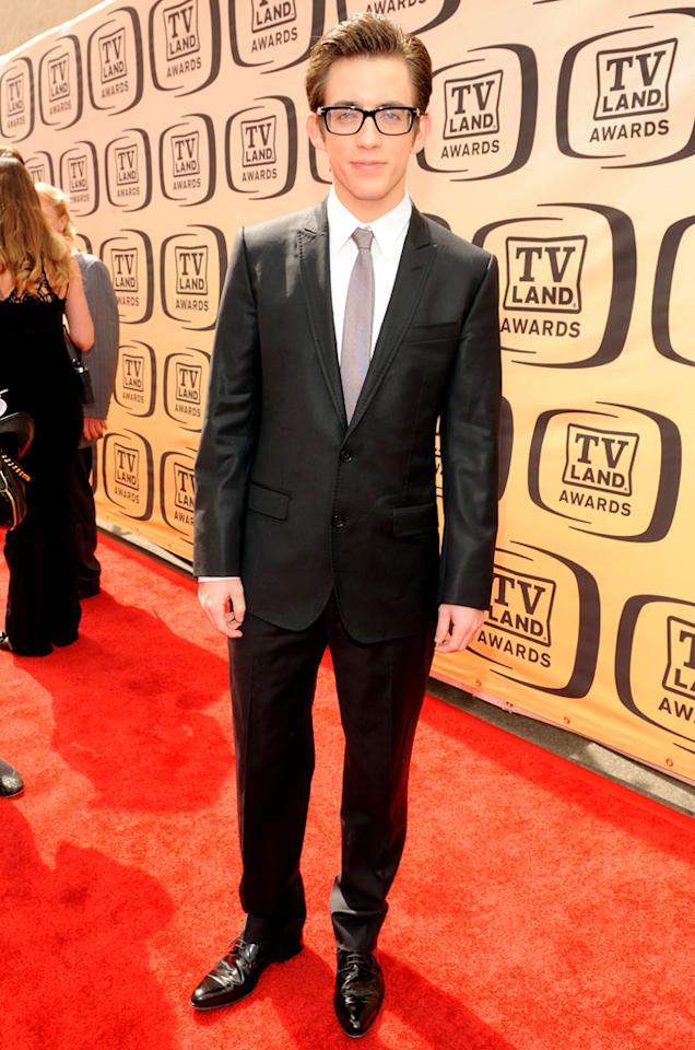 "Kevin McHale (""Glee"") arrives at the <a href=""/the-8th-annual-tv-land-awards/show/46258"">8th Annual TV Land Awards</a> at Sony Studios on April 17, 2010 in Los Angeles, California. The show is set to air Sunday, 4/25 at 9pm on TV Land."