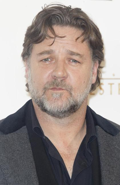 Russell Crowe a Madrid (Foto Eduardo Parra/Getty Images)