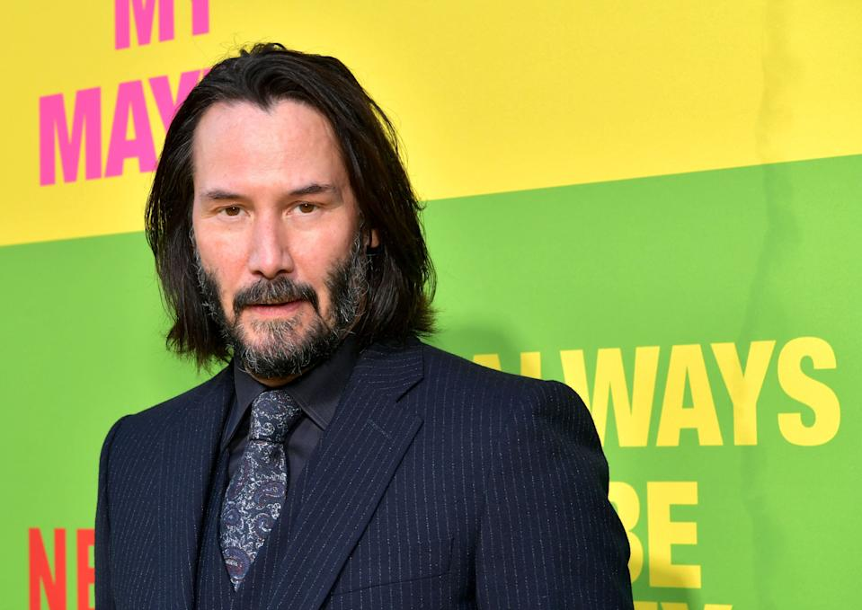 WESTWOOD, CALIFORNIA - MAY 22: Keanu Reeves attends the world premiere of Netflix's 'Always Be My Maybe' at Regency Village Theatre on May 22, 2019 in Westwood, California. (Photo by Emma McIntyre/Getty Images for Netflix)