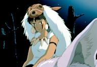 <p>If you have friends who are up on their anime, Princess Mononoke is certain to be a big hit. Triangle stencils will allow you to do her face-paint at home with ease. </p>