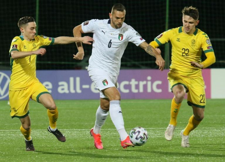 Italy made it three World Cup qualifying wins in Lithuania