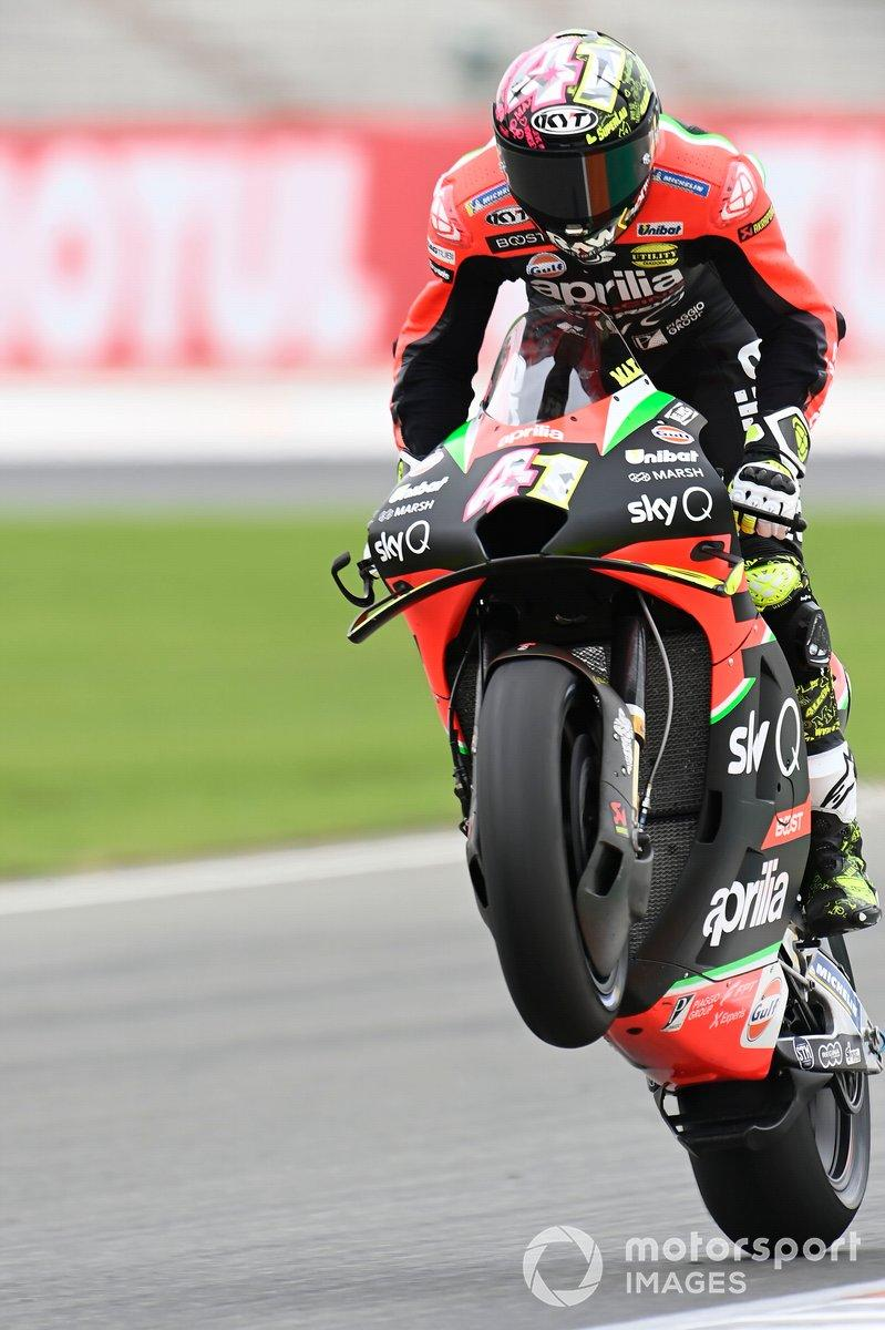 "Aleix Espargaro, Aprilia Racing Team Gresini<span class=""copyright"">Gold and Goose / Motorsport Images</span>"