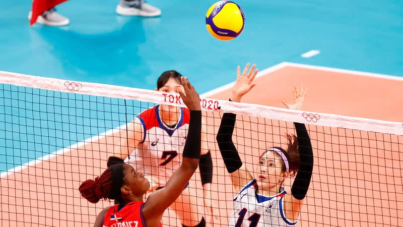 Volleyball - Women's Pool A - South Korea v Dominican Republic