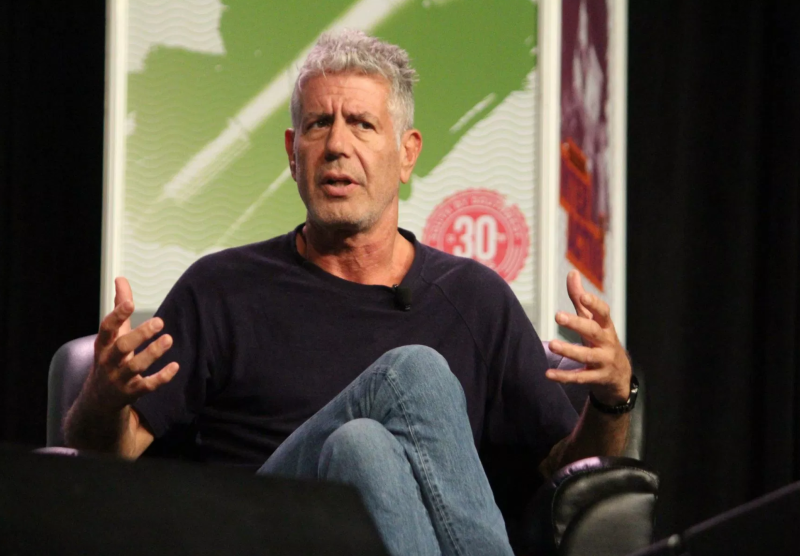 Anthony Bourdain imagines Harvey Weinstein's death, slams Clintons in final interview