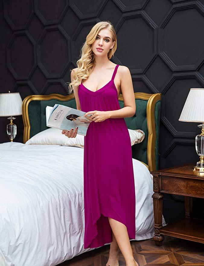 The gorgeous sleeveless gown is available in over 18 colors. (Photo: Amazon)