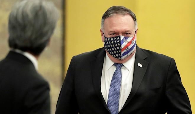Beijing has accused Secretary of State Mike Pompeo of seeking to shift blame for US mistakes to China. Photo: AFP