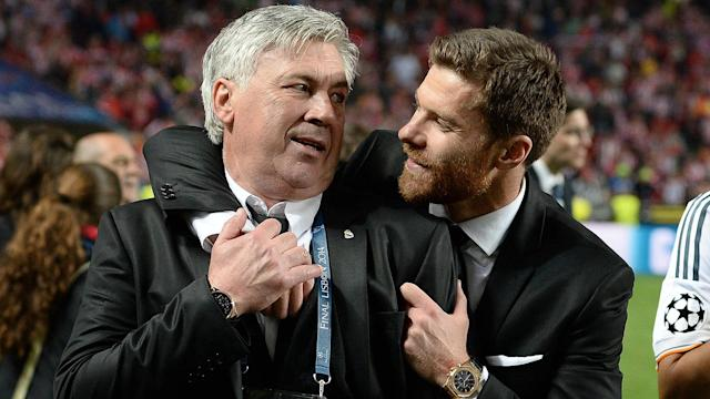 ONLY GERMANY Carlo Ancelotti Xabi Alonso 05242015