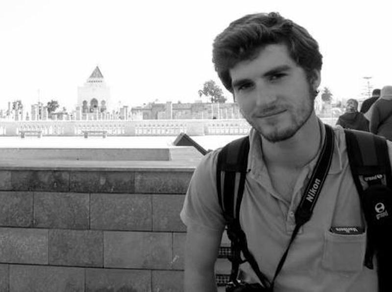 This undated photo provided by the Pochter family shows Andrew Driscoll Pochter. The U.S. State Department confirmed Saturday, June 29, 2013, that Kenyan College student, Andrew Pochter, 21, of Chevy Chase, Md. died Friday, June 28, while photographing clashes between opponents and supporters of President Mohamed Morsi in Alexandria, Egypt. The Pochter family said Pochter went to Alexandria for the summer to teach English to 7 and 8 year old Egyptian children and to improve his Arabic. (AP Photo/Pochter Family)