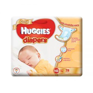 Best diapers in Singapore - Huggies Gold Diapers