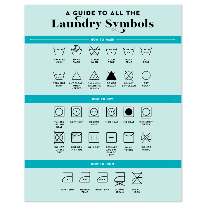 """<p><strong>Good Housekeeping</strong></p><p>goodhousekeeping.com</p><p><strong>$12.50</strong></p><p><a href=""""https://shop.goodhousekeeping.com/laundry-symbol-chart-art-print.html"""" rel=""""nofollow noopener"""" target=""""_blank"""" data-ylk=""""slk:Shop Now"""" class=""""link rapid-noclick-resp"""">Shop Now</a></p><p>Soon, you won't be there to answer their hard-hitting laundry Qs. Frame this print, so they can hang it up and refer to it when their shirt's care tag is telling them. </p>"""