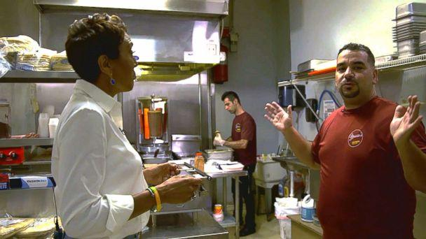 PHOTO: Yassin Terou, owner of Yassin's Falafel House in Knoxville, Tenn., opens up in an interview with 'GMA.' (ABC News )