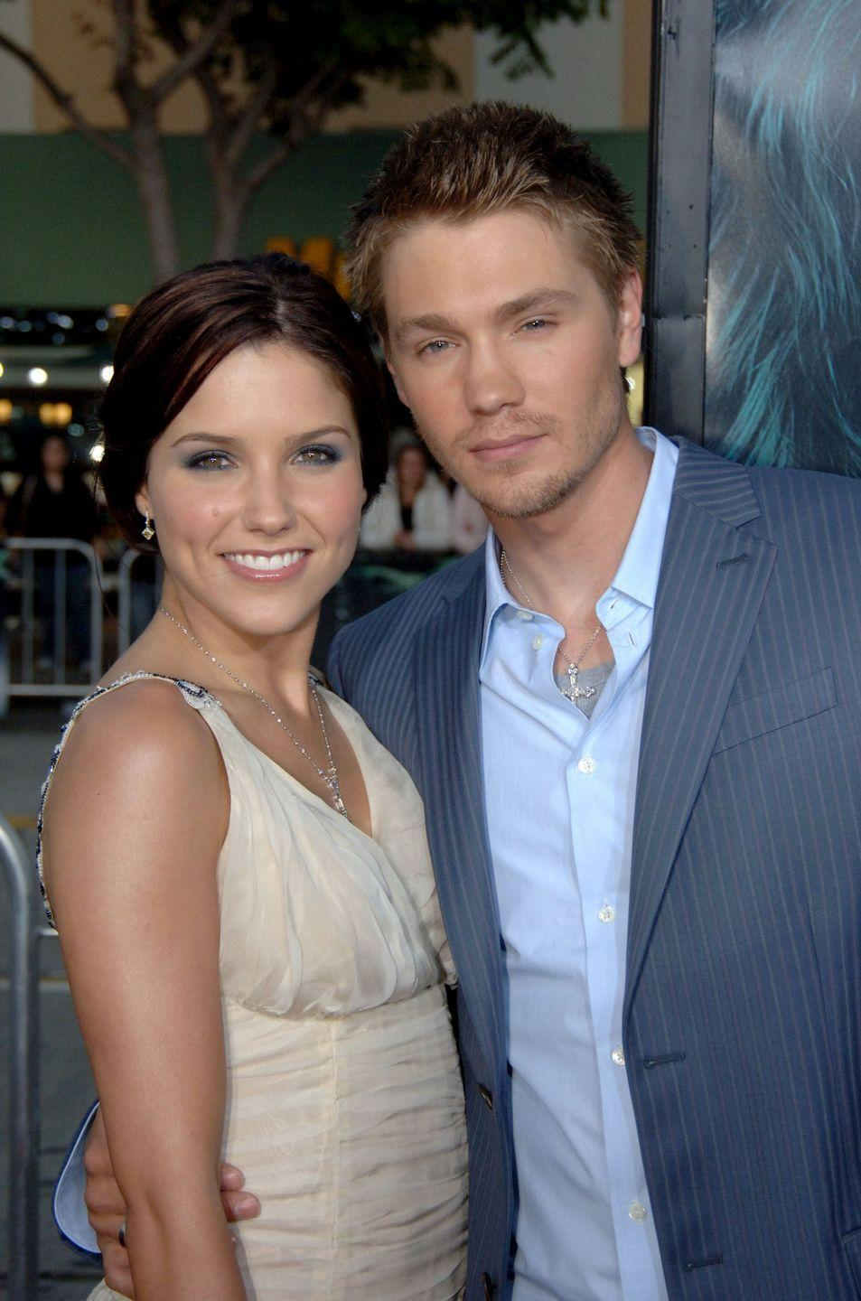 """<p>Appearing on <a href=""""https://www.huffingtonpost.com/2014/01/07/sophia-bush-chad-michael-murray_n_4556731.html"""" rel=""""nofollow noopener"""" target=""""_blank"""" data-ylk=""""slk:Watch What Happens Live With Andy Cohen"""" class=""""link rapid-noclick-resp"""">Watch What Happens Live With Andy Cohen</a>, Sophia said of her ex-husband Chad (they married and divorced in 2005), 'My mother once said to me that if you don't have anything nice to say, not to say anything at all.'</p><p> She later added that marrying her One Tree Hill co-star was a bad idea. 'For me, my job is my priority, and so it really helped me just let go of it and be like, """"Look, at the end of the day, we were two stupid kids who had no business being in a relationship in the first place.""""'</p>"""