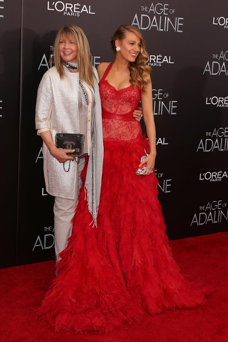 Blake and Elaine at the 'Age of Adaline' premiere. <i>(Getty Images)</i>