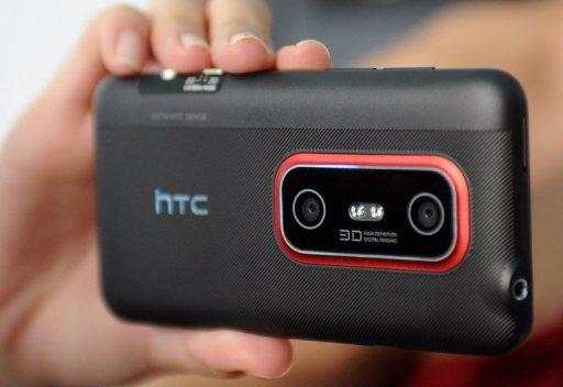 HTC forecast that its revenues in the three months to June will rise to Tw$105.0 billion