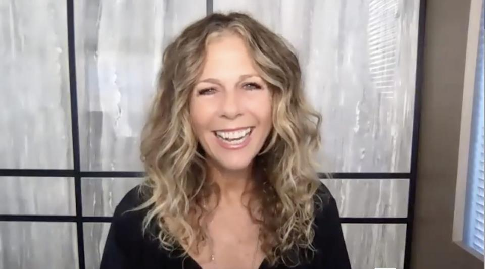 Rita Wilson during a video interview with Insider.