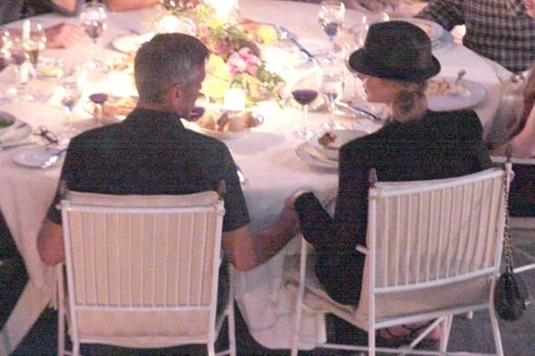 George Clooney and Stacy Keibler hit by food poisoning on Italy holiday