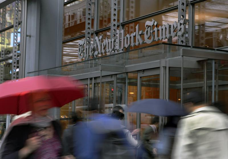NY Times, others back AP lawsuit against Meltwater