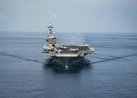 Carrier group heads for Korean waters as Trump calls leaders