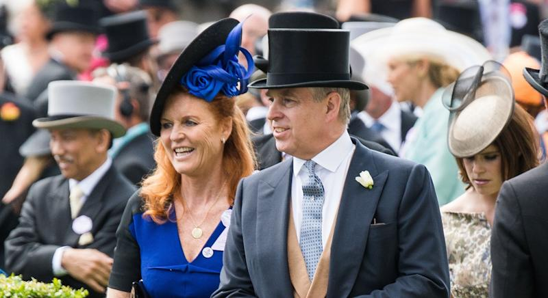 Prince Andrew was with Sarah Ferguson in Balmoral on holiday when news of Jeffrey Epstein's death broke [Image: Getty]