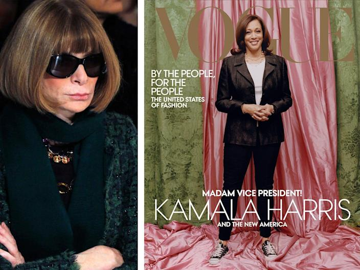 Anna Wintour says Vogue has 'heard and understood' the backlash to Vice President-elect Kamala Harris' February cover photo