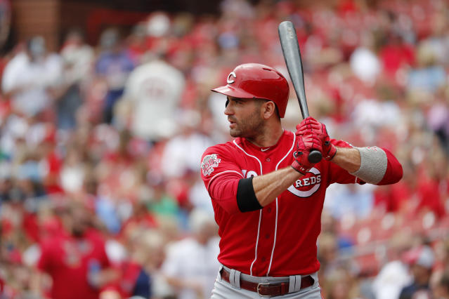 The Reds are projected to win the NL Central. (AP Photo/Jeff Roberson)