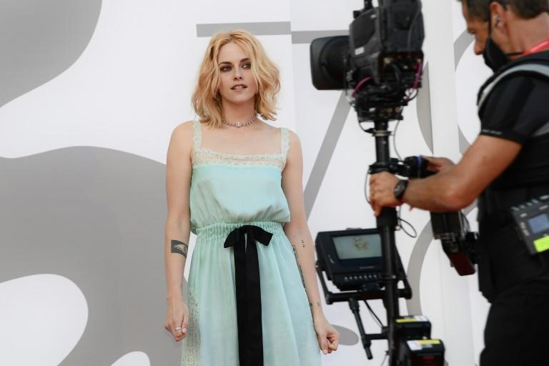 """There was immediate awards buzz around Kristen Stewart for her role as Princess Diana in """"Spencer"""" (AFP/Filippo MONTEFORTE)"""