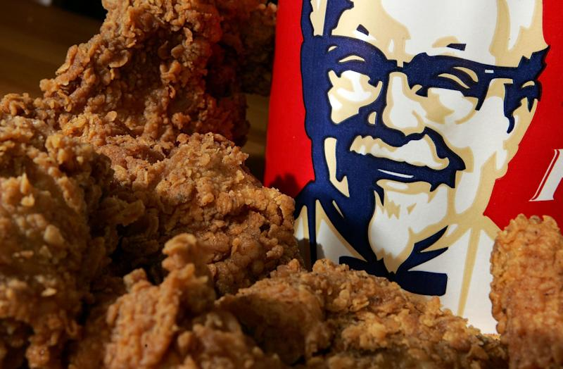 KFC says it is because of delivery 'hiccups': Getty