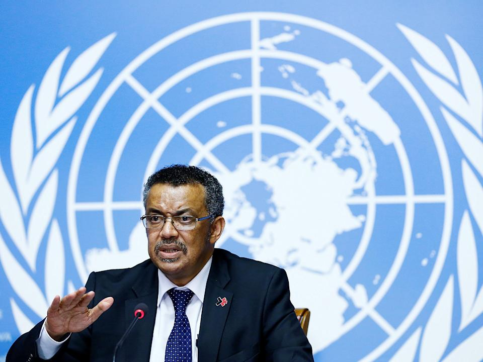Newly-elected Director-General of the World Health Organization (WHO) Tedros Adhanom Ghebreyesus attends a news conference at the United Nations in Geneva, Switzerland: Reuters
