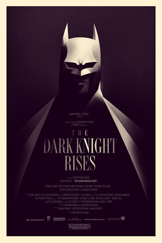 'The Dark Knight' collectable print - 2012