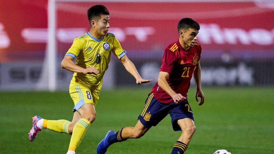 Spain U21 v Kazakhstan U21 - UEFA Euro Under 21 Qualifier | Quality Sport Images/Getty Images