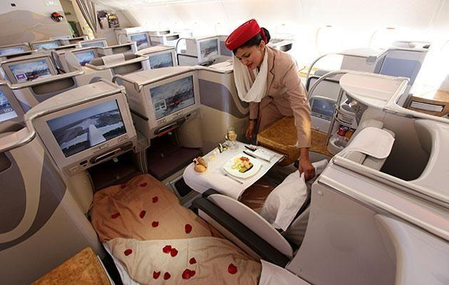Not only do they have a pretty sweet office but Emirates attendants also get free accommodation in Dubai. Photo: Getty.