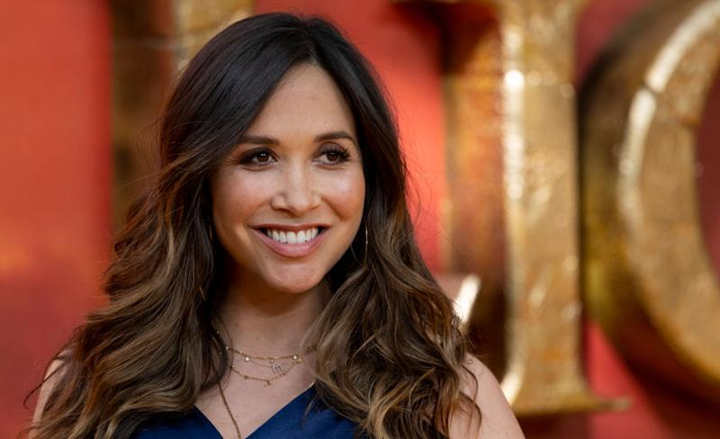 Myleene Klass has called out breastfeeding shamers in a passionate Instagram post, pictured in July, 2019. (Getty Images)