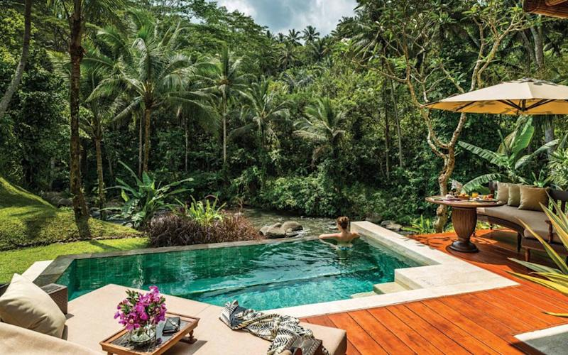 Treatments for the soul at Four Seasons Resort Bali at Sayan are the real deal, and leave such a long-lasting sense of serenity you'd be a fool to miss out.