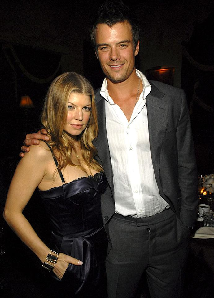 """Fergie and Josh Duhamel were the first celebrity couple to tie the knot in 2009. Unfortunately, Duhamel was recently accused of cheating on the """"Glamorous"""" singer. Do you think the rumor is true? Kevin Mazur/<a href=""""http://www.wireimage.com"""" target=""""new"""">WireImage.com</a> - November 16, 2007"""