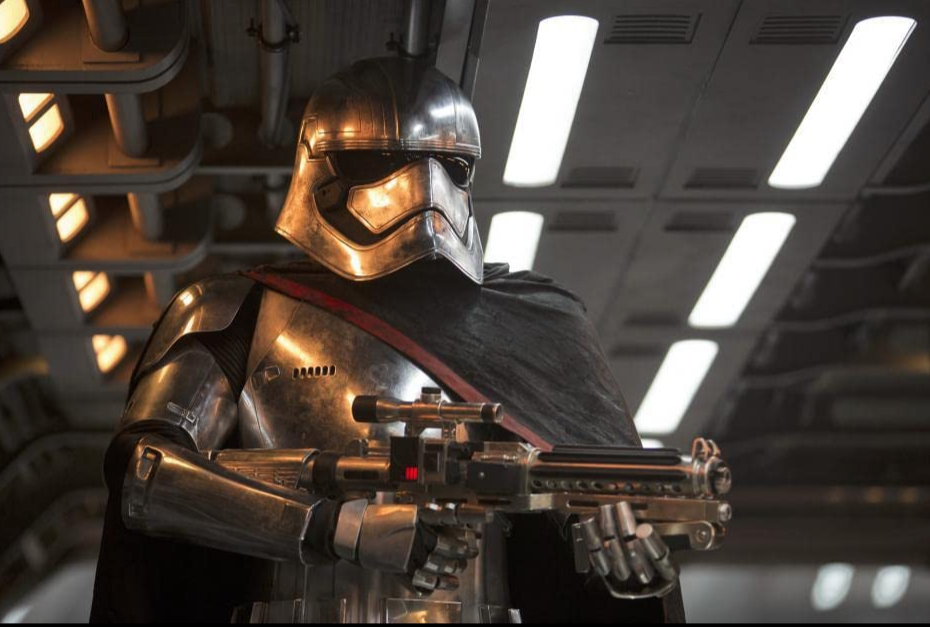 <p>While most of the stormtroopers we saw in the theatrical releases were male, Phasma is one badass female trooper. She's the commander of the First Order's troopers in <em>The Force Awakens </em>and <em>The Last Jedi</em>. </p>