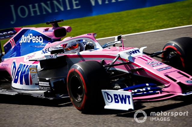 "Sergio Perez, Racing Point RP19 <span class=""copyright"">Andy Hone / LAT Images</span>"