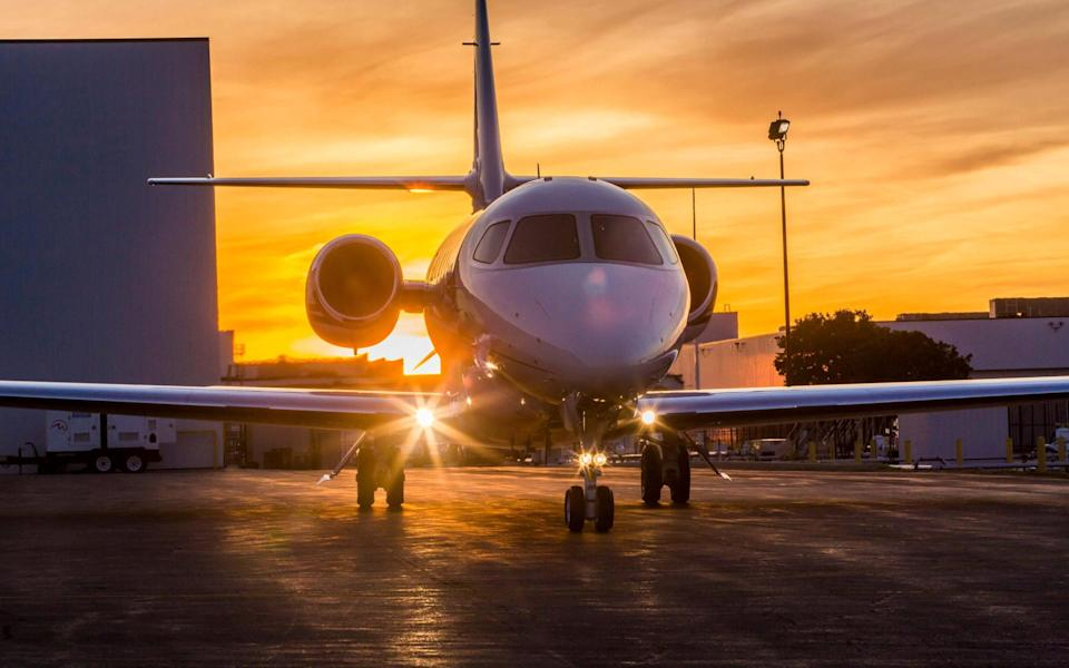 Reduced quarantine, paired with the end of lockdown, have prompted a spike in enquiries for private jet companies