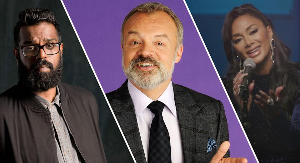 We'll be watching The Ranganation, Graham Norton and Musicals this weekend (BBC)