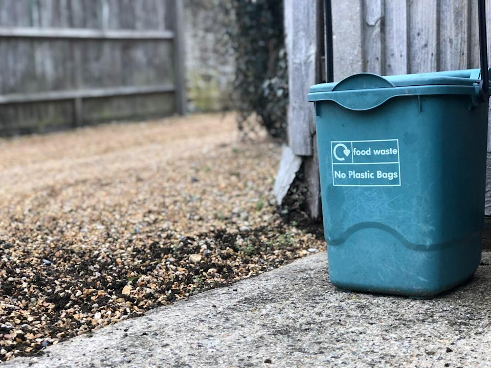 """<p>Composting can be intimidating, but even without a backyard, you can still get the job done. There are plenty of <a href=""""https://www.popsugar.com/smart-living/best-composting-product-for-apartments-47618422"""" class=""""link rapid-noclick-resp"""" rel=""""nofollow noopener"""" target=""""_blank"""" data-ylk=""""slk:apartment-friendly compost containers"""">apartment-friendly compost containers</a> out there, and the benefits? Well, if you're a plant parent, you've got yourself some great soil. Additionally, by throwing food scraps into the garbage it gets tossed into landfills and in return generates methane gas - so it's best your household takes care of food scraps on their own!</p>"""