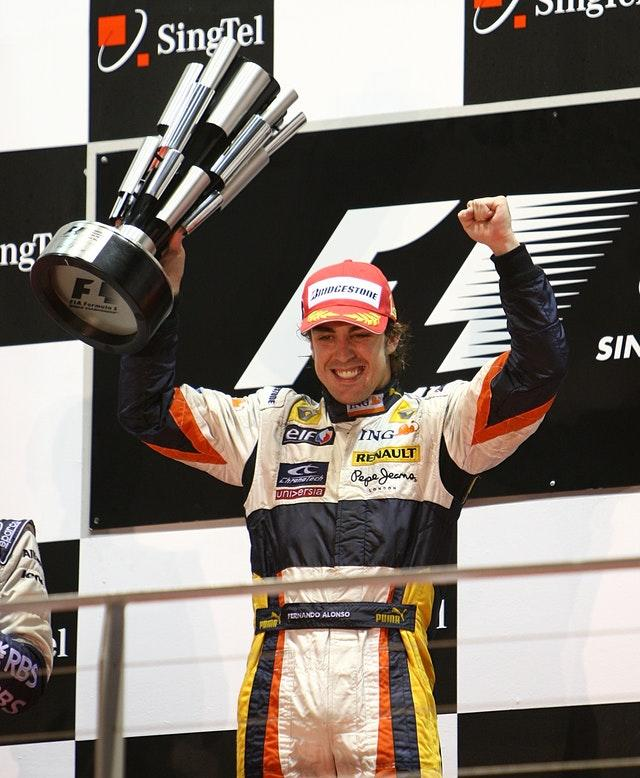 Fernando Alonso won two world titles with Renault