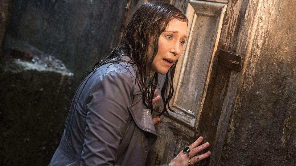 """<p>With the third installment, <em>The Conjuring: The Devil Made Me Do It</em> now <a href=""""https://www.amazon.com/Conjuring-Devil-Made-Me-Do/dp/B098R7JC4G?tag=syn-yahoo-20&ascsubtag=%5Bartid%7C10055.g.28067867%5Bsrc%7Cyahoo-us"""" rel=""""nofollow noopener"""" target=""""_blank"""" data-ylk=""""slk:available on VOD"""" class=""""link rapid-noclick-resp"""">available on VOD</a>, perhaps it's time for a refresh on the series? In this chapter, paranormal investigators Ed and Lorraine Warren — characters based on real people — look into a possible haunting in Enfield, England, which is also based on a real case.</p><p><a class=""""link rapid-noclick-resp"""" href=""""https://www.netflix.com/watch/80091246"""" rel=""""nofollow noopener"""" target=""""_blank"""" data-ylk=""""slk:STREAM NOW"""">STREAM NOW</a></p>"""