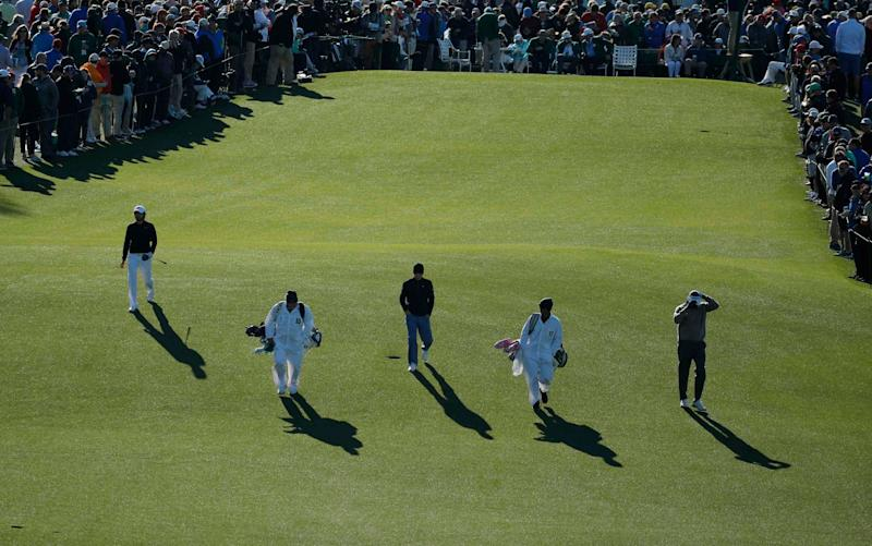 There promises to be huge excitement in the final day of the 2017 Masters  - REUTERS